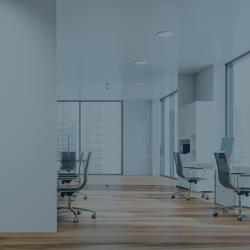 Kontor gjort rent af rengøringsfirma i København